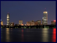 Boston Back Bay skyline from Cambridge
