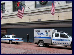 Boston police cars