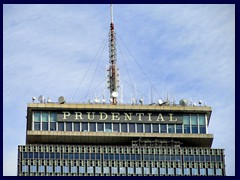Prudential Tower top
