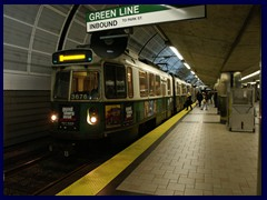 Subway Green line