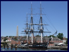 USS Constitution, Charlestown