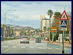 Calpe - North part (La Fossa) - Av Juan Carlos I