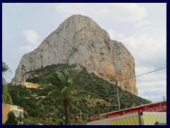 Penyal d'Ifac, a 332m high limestone rock and natural parks with numerous rare plants and animals.