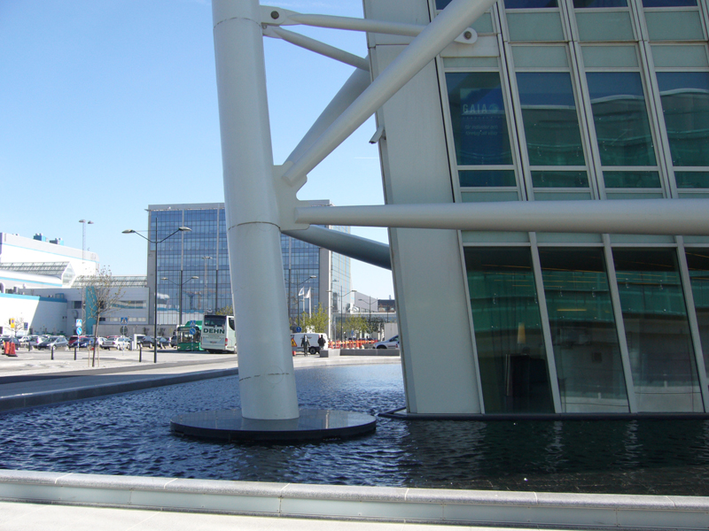 The New Buildings At Dockan And Vastra Hamnen Summer In