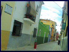 Villajoyosa 14 - part of the colourful old town